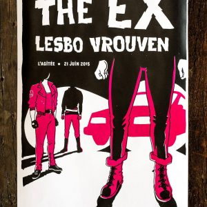 Lesbo Vrouven + The Ex poster