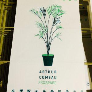 Arthur Comeau - Prospare Poster