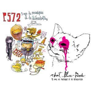 P572 & Chat Blanc Records - 5 Ans De Musique Et De Révolution