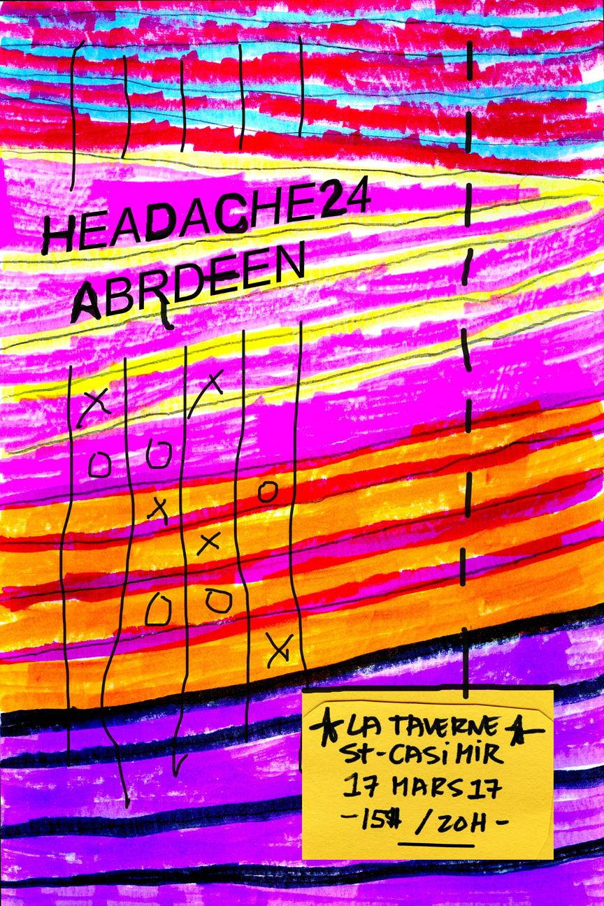Poster Headache24 Arbdeen