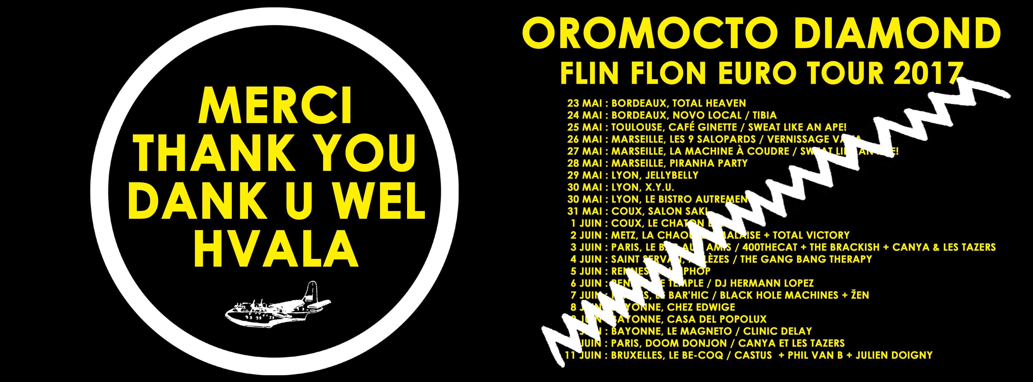 Oromocto Diamond - Flin Flon Euro Tour 2017